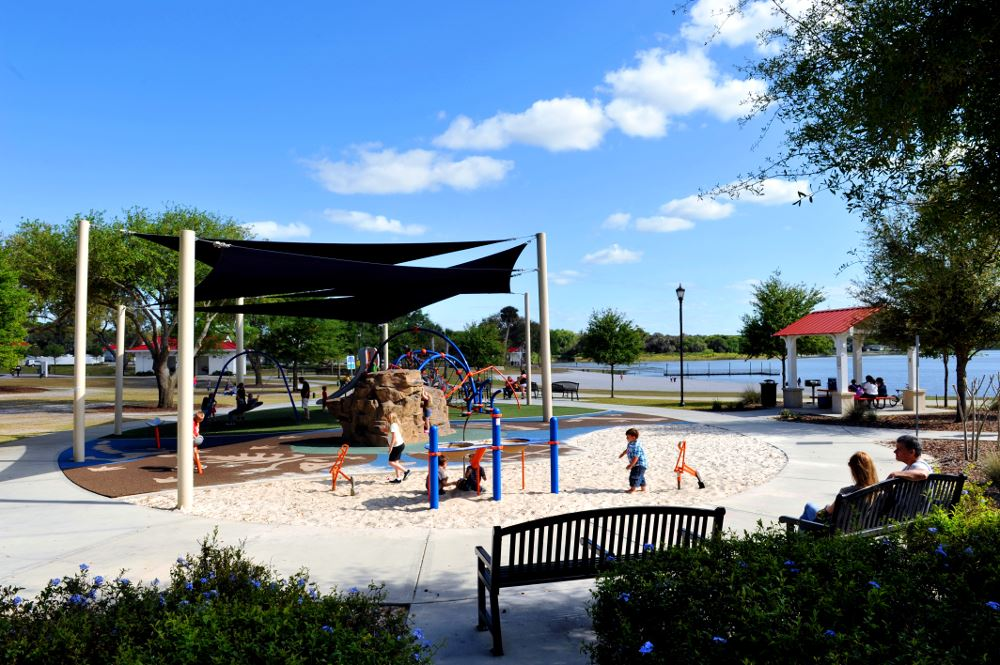 Lake Eva Park Shaded Playground